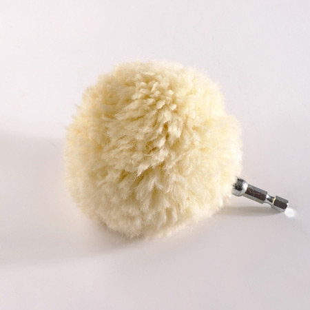 wool polishing ball