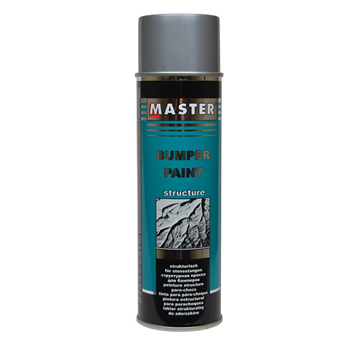 Master bumper paint with structure